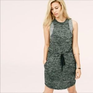 Lou & Grey Speckled Drawstring Dress